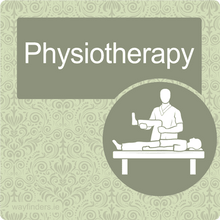 Load image into Gallery viewer, Dementia Friendly Physiotherapy Door Sign