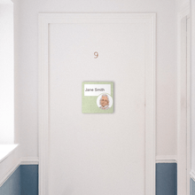Load image into Gallery viewer, Paper Insert Dementia Sign - Veridian Green