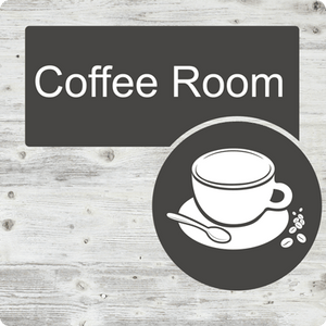 Dementia Friendly Coffee Room Door Sign