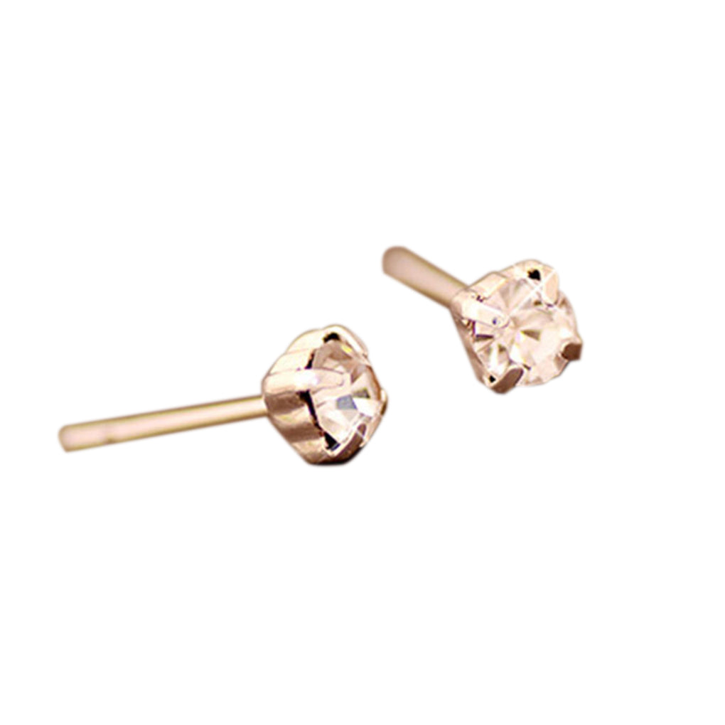 Crystal  Stud Earrings for Women Best for Wedding Party Jewelry Gift