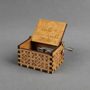 Hand operated Musical Boxes exclusive features of Game of thrones