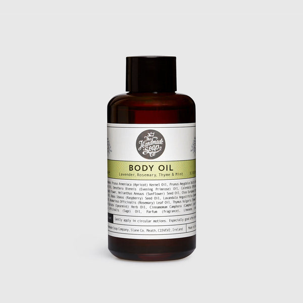 Body Oil - Lavender, Rosemary, Thyme & Mint | 100 ml