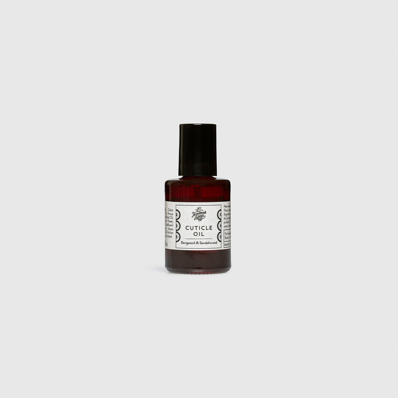 Handmade, Natural, Vegan and Cruelty Free Essential Oil Cuticle OIl. Scented with essential oils from Lavender, Rosemary, Thyme & Mint. Bottled in a glass bottle & presented in a Gift Box.