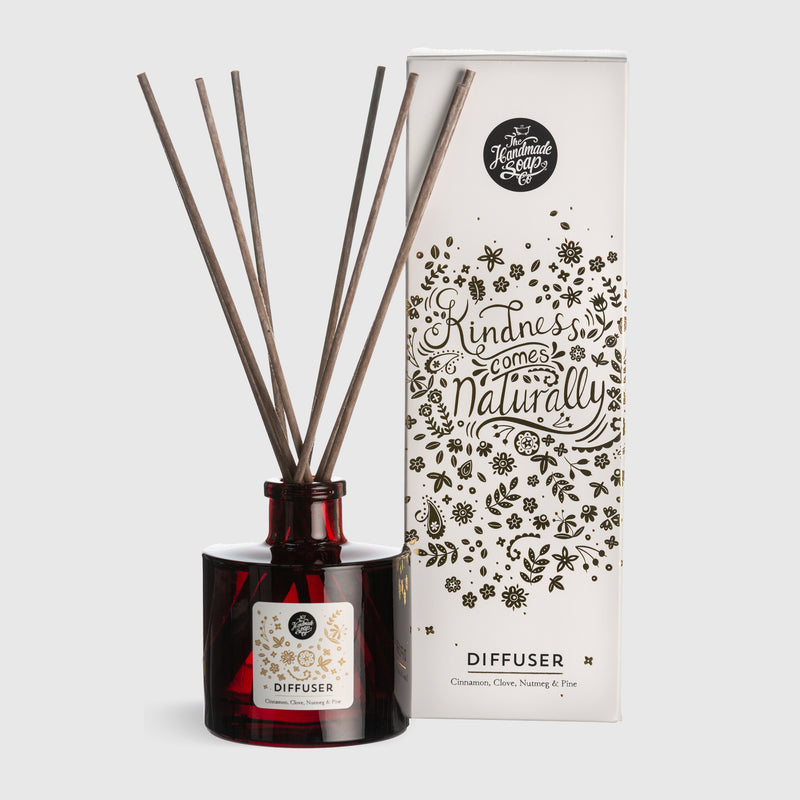 Winter Reed Diffuser | Cinnamon, Clove, Nutmeg + Pine | 200ml