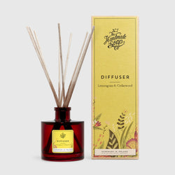 All Natural Handmade Lemongrass & Cedarwood Essential Oil Reed Diffuser
