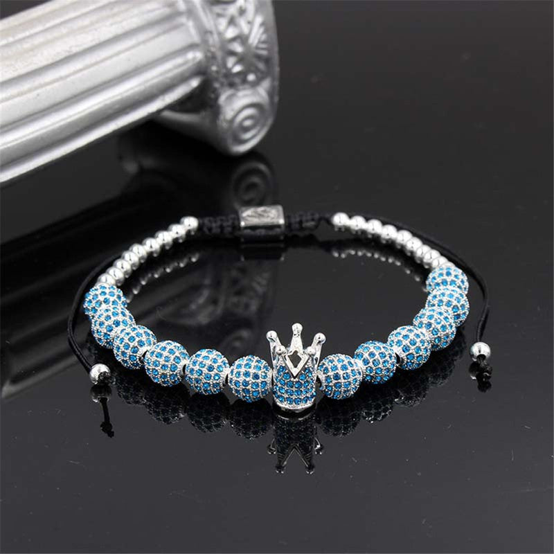 (BEST SALE)Luxury Royal Crown Charm Jewelry Bracelets