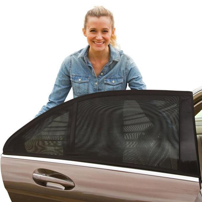 Buy 2 Sets Free Shipping !!! 60% OFF Universal Car Window Sun Shade Curtain(Fit All Cars)