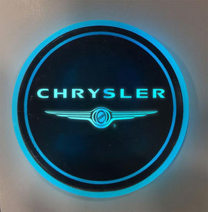 (50% OFF ONLY TODAY) 7 Colors  Led Changing USB Charging Car Logo Cup Lights up Holder