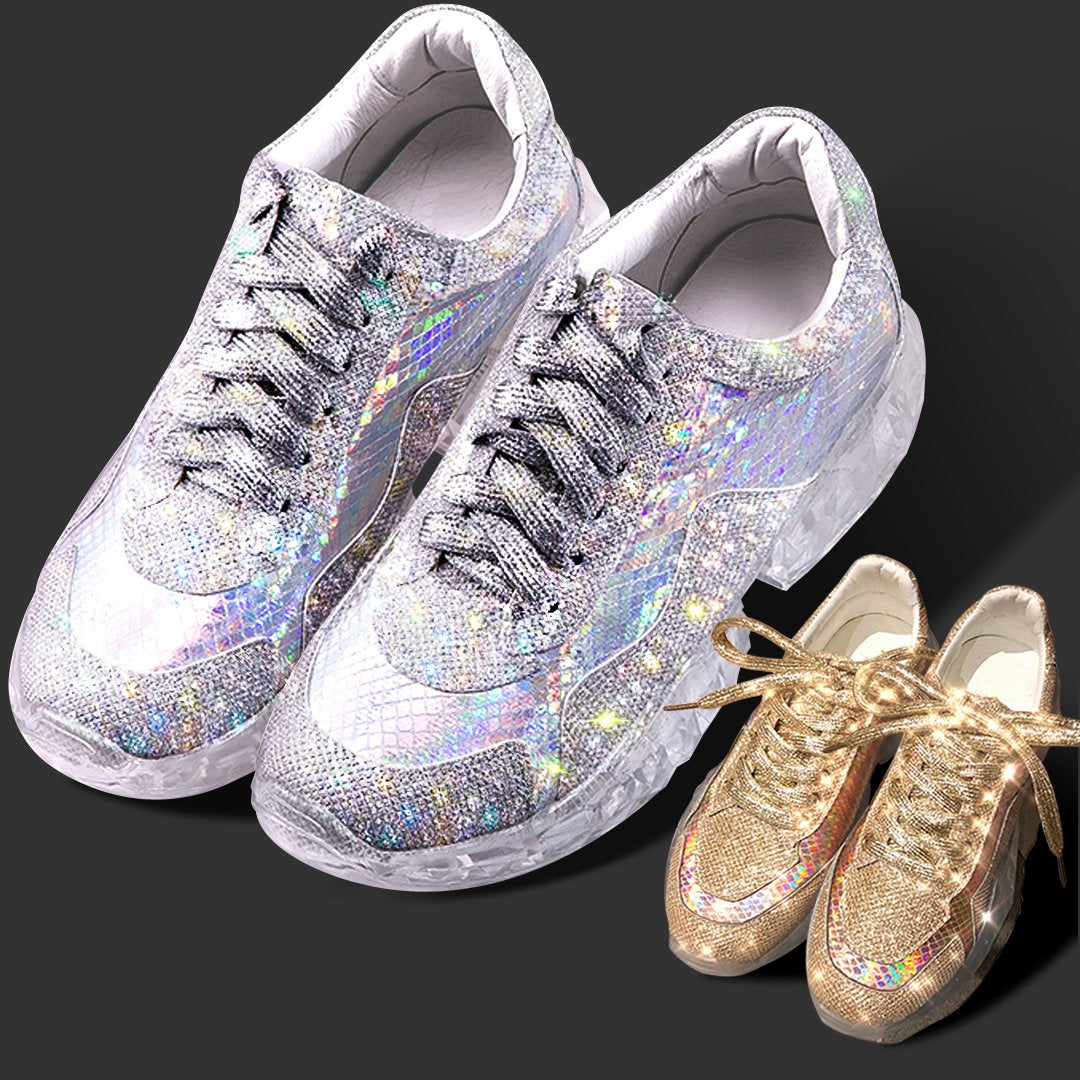 Sparkle White Sneakers
