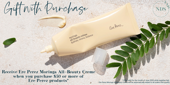 Gift with purchase Ere Perez Moringa All-Beauty Creme