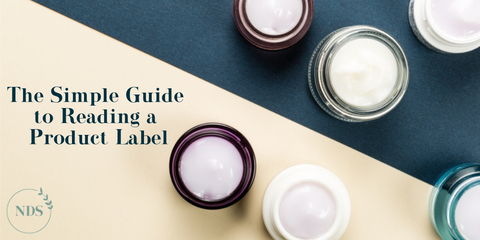 Guide to Reading a Product Label