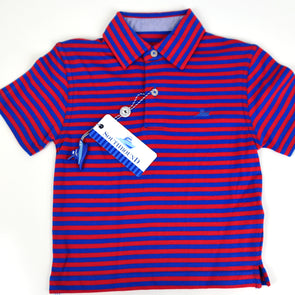 Red & Blue Boys Polo