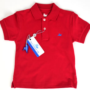 Red Boys Polo