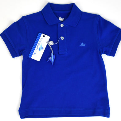 Royal Blue Boys Polo