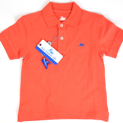 Orange Boys Polo