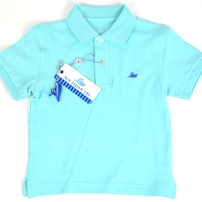 Seafoam Boys Polo