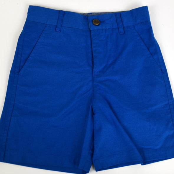 Royal Blue Point Clear Shorts