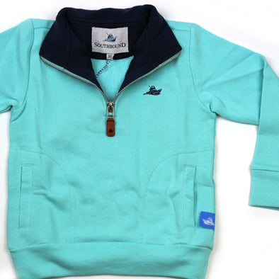 1/2 Zip Knit Pullover for Kids - Island Paradise