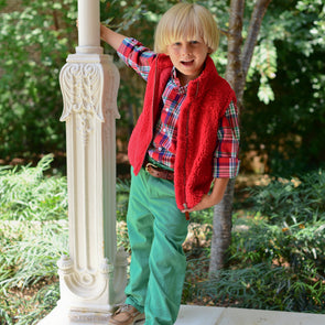 Point Clear Pants for Kids - Emerald Green