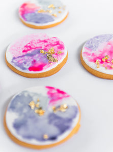 Watercolour Cookies
