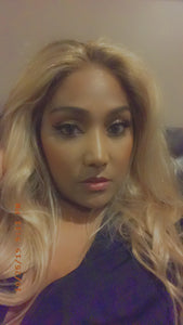 The bold and the blonde -  Lace front Wig