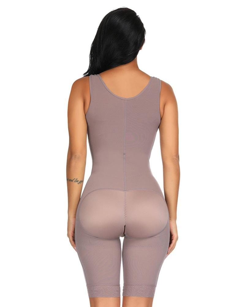 Full Body Shaper Seamless Thigh Corset Slimming Hooks Bodysuit