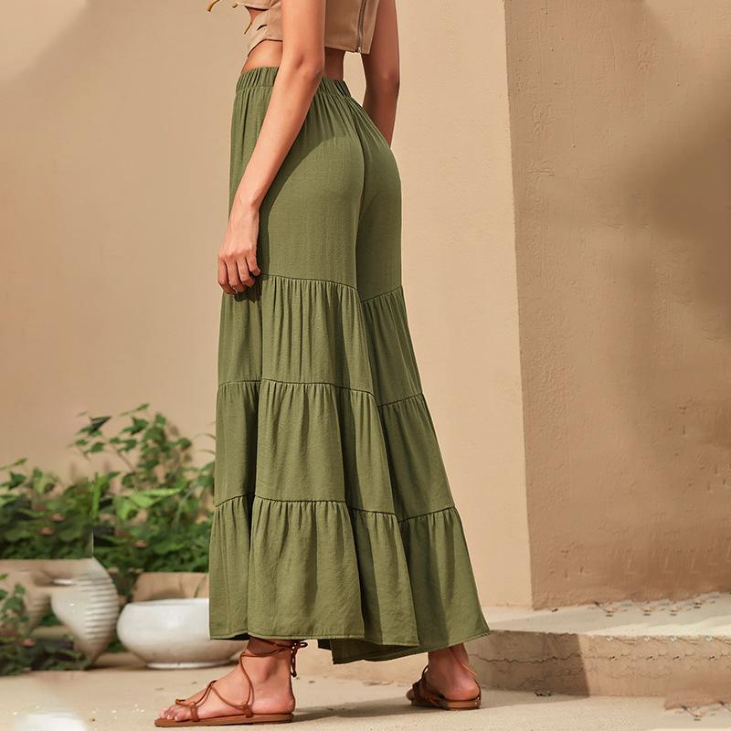 High Waist Loose Wide Leg Pants