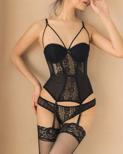 Corset with High Elastic Breathable Breathable Fabric