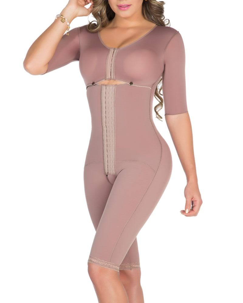 Half Sleeves Girdle with Bra