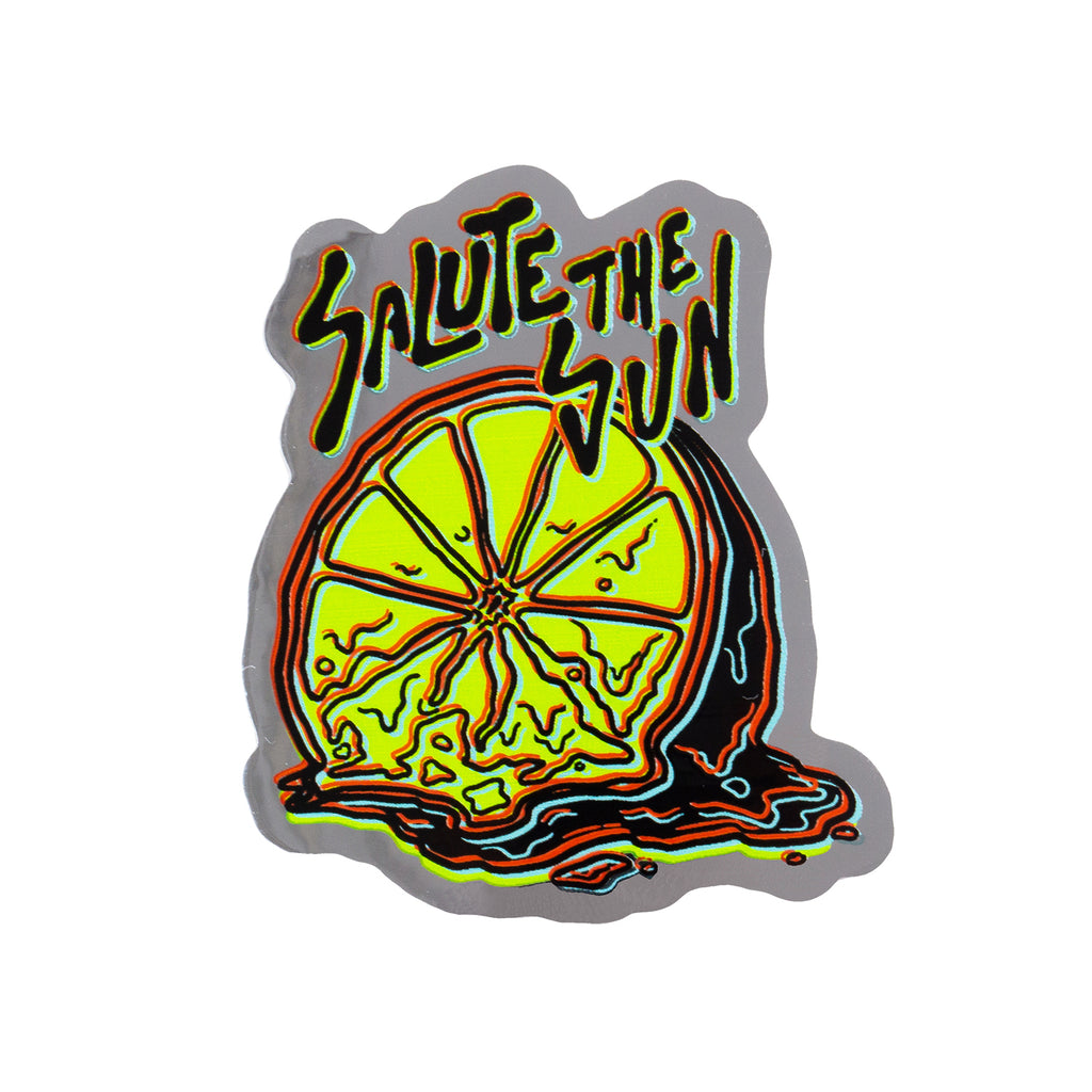 Salute the Sun Sticker