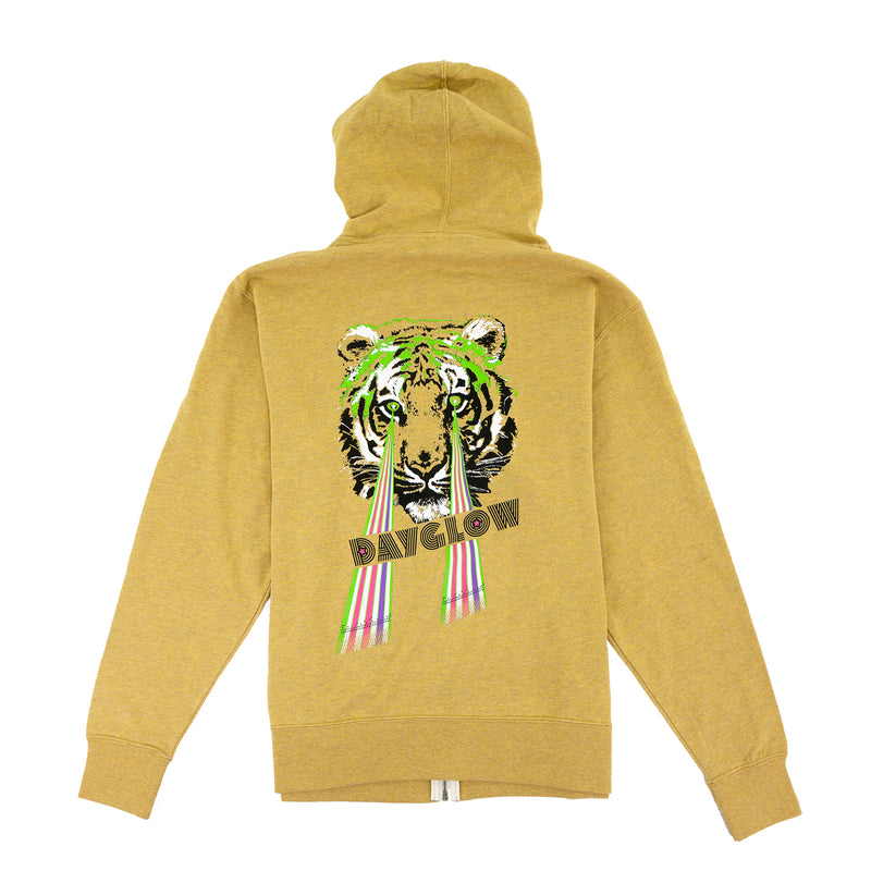 Dayglow Terry Zip Up Hoodie