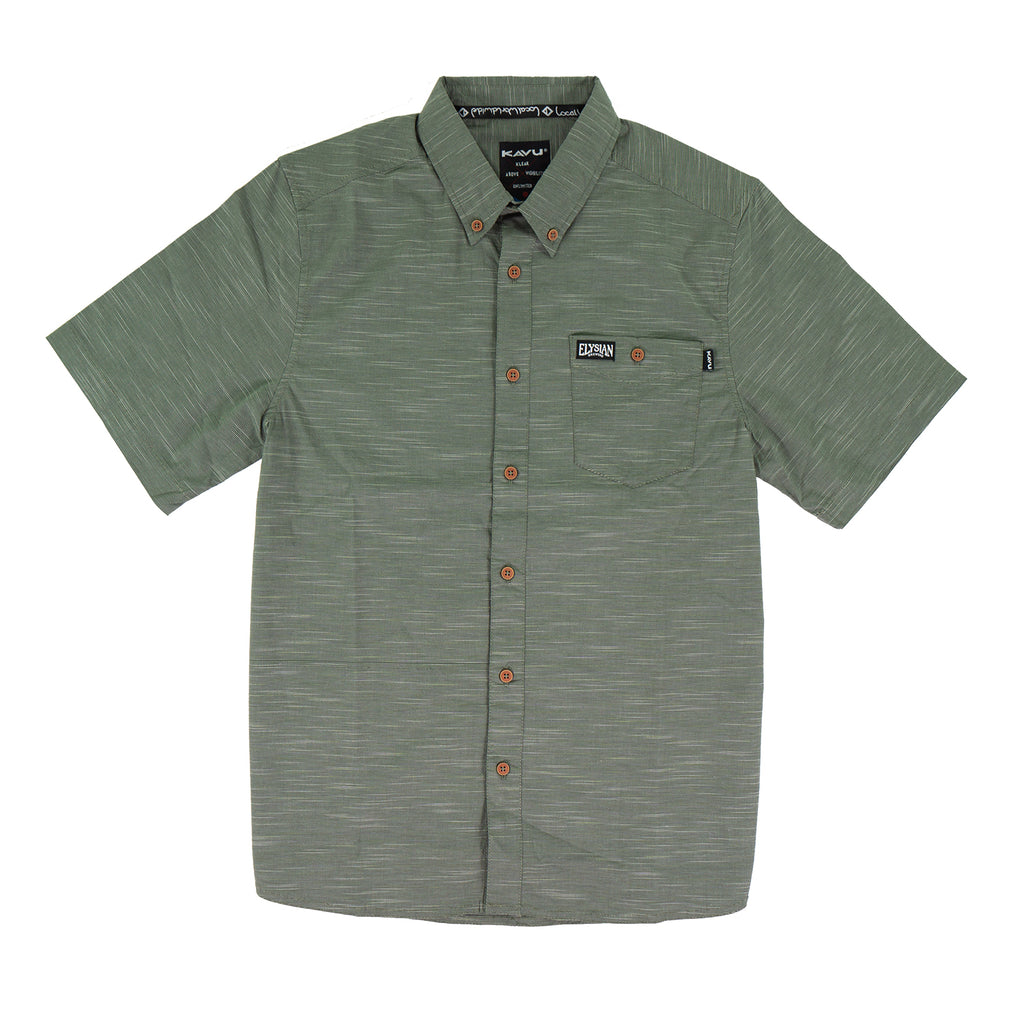Kavu Men's Welland Shirt - Green