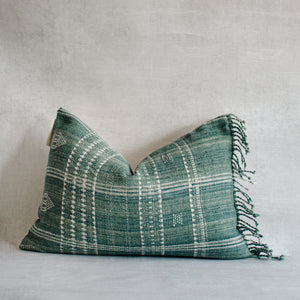 DELÉ- Vintage Indian Wool Lumbar Pillow Cover