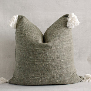JOBA - Textured Natural Raw Cotton Pillow Cover
