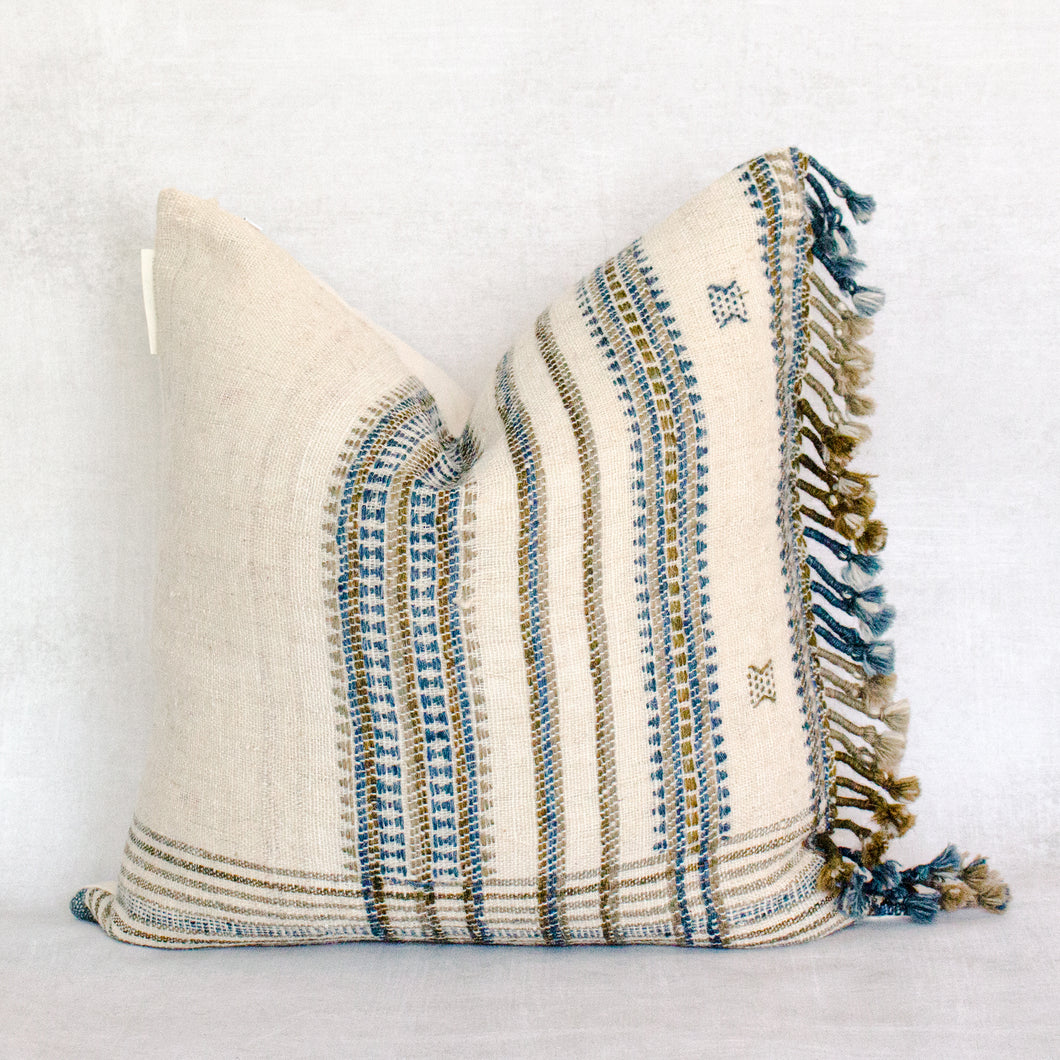DOLAPO - Vintage Indian Wool Pillow Cover