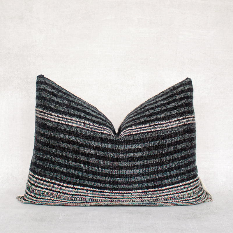 AMAI- Vintage Indian Wool Lumbar Pillow Cover