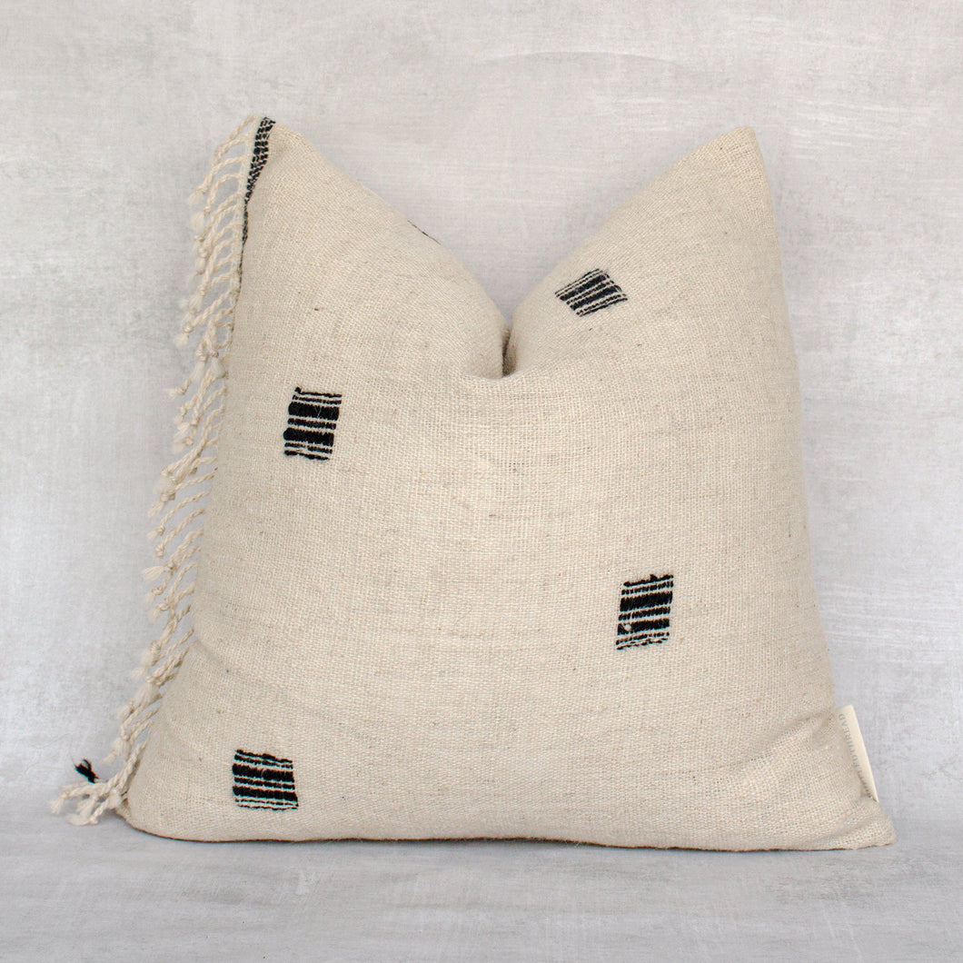 NAIMAH- Vintage Indian Wool Pillow Cover