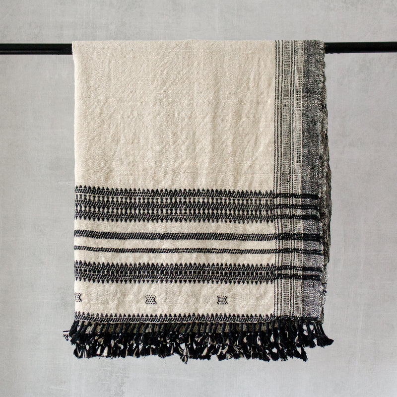 JOKÉ - Vintage Indian Wool Throw Blanket