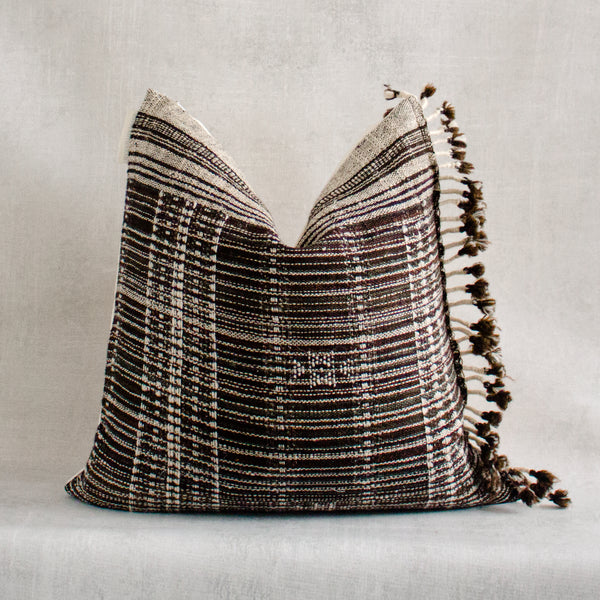 YIMIKA- Vintage Indian Wool Pillow Cover