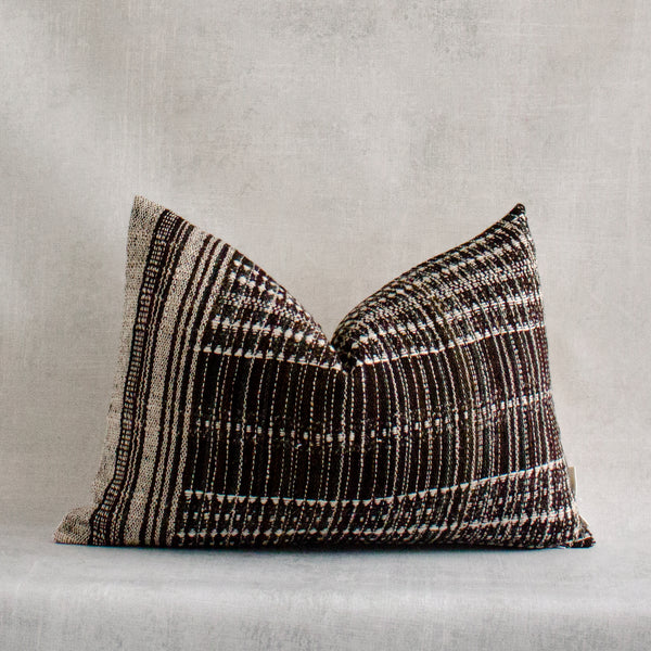 JOMI - Vintage Indian Wool Lumbar Pillow Cover