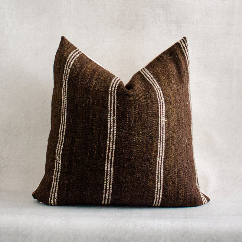 RONKE 2- Vintage Indian Wool Pillow Cover