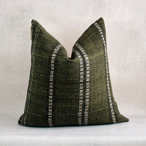 TEJU - Vintage Indian Wool Pillow Cover