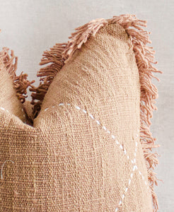 TONI - Textured Natural Raw Cotton Pillow Cover