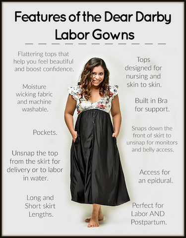 gown features