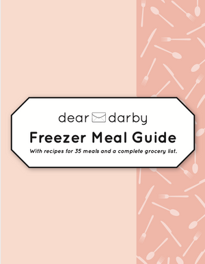 Freezer Meal Guide