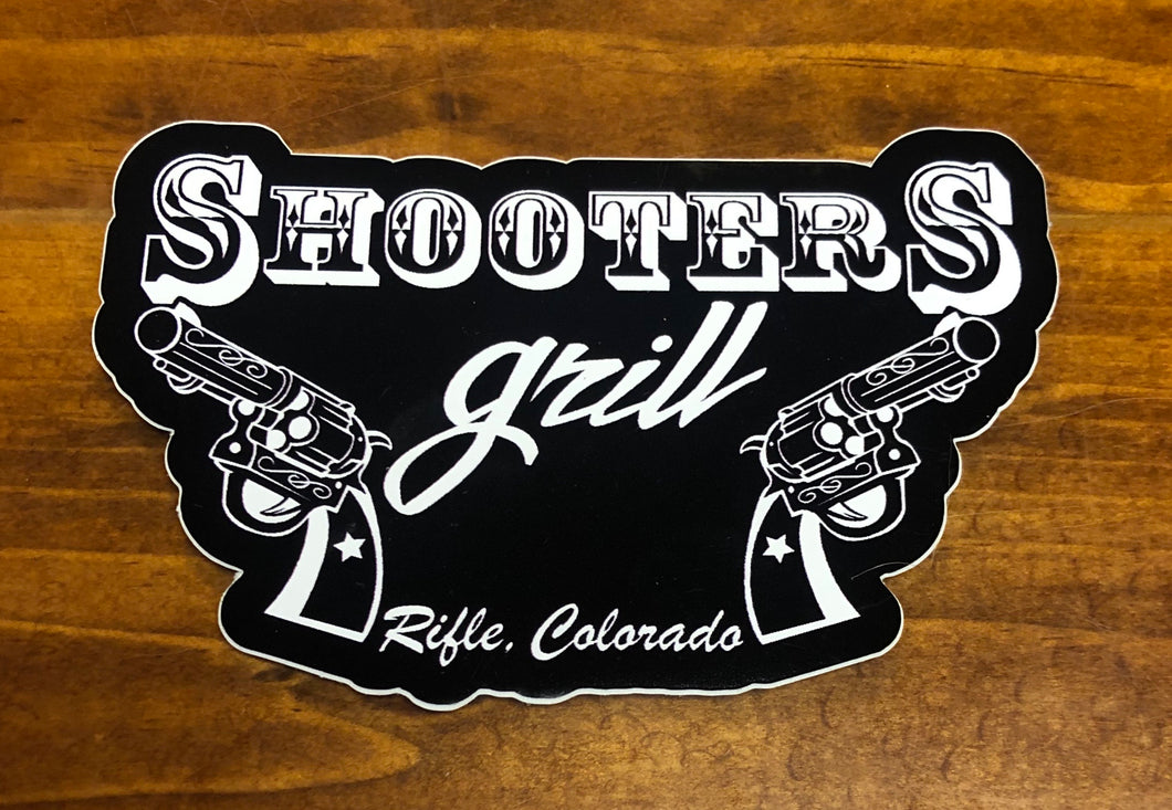 Shooters Grill Sticker
