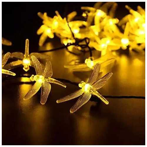 Solar Powered Firefly LED Light String