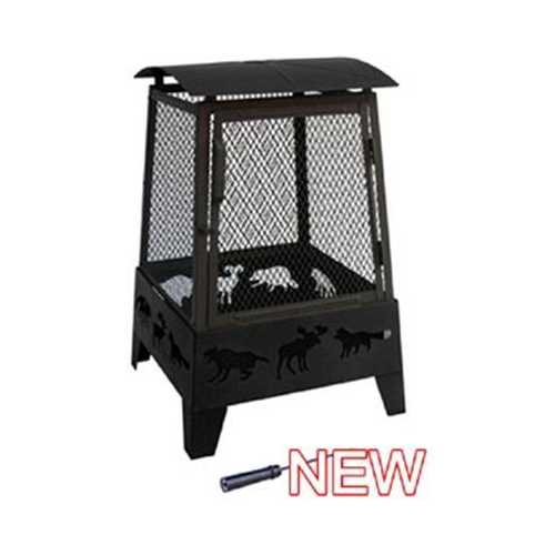 Haywood Fire Pit Black