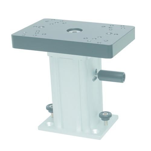 Cannon Aluminum Swivel Base Downrigger Pedestal - 6""