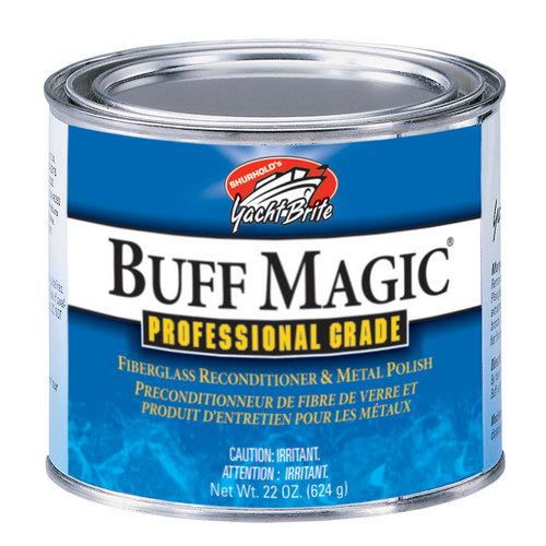Shurhold Buff Magic Compound Surface Reconditioner &amp Metal Polish - 22oz